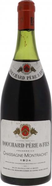 1924 Chassagne-Montrachet Rouge