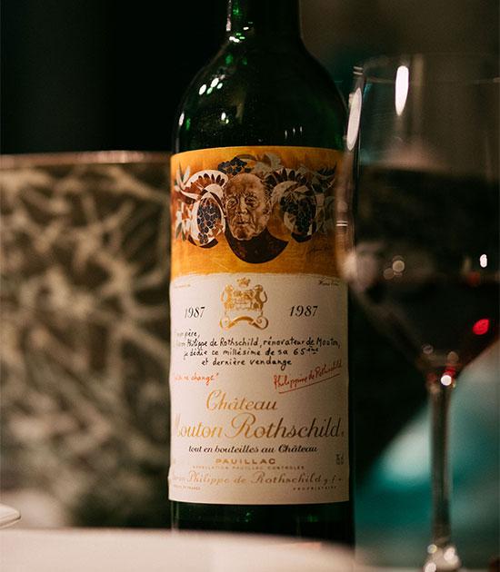 1987 Mouton Rothschild
