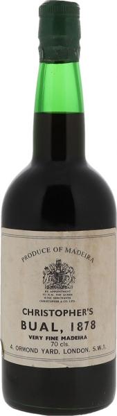 1878 Madeira Bual