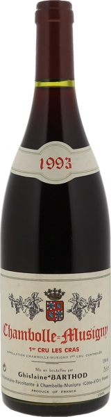 1993 Chambolle-Musigny Premier Cru Les Cras