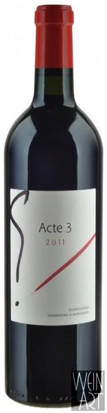 2011 G Acte 3 Bordeaux Supérieur