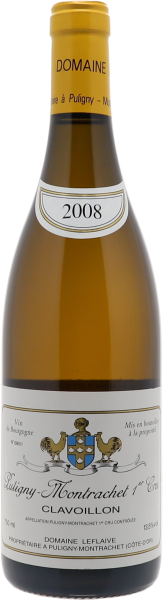 2008 Puligny-Montrachet Premier Cru Clavoillon
