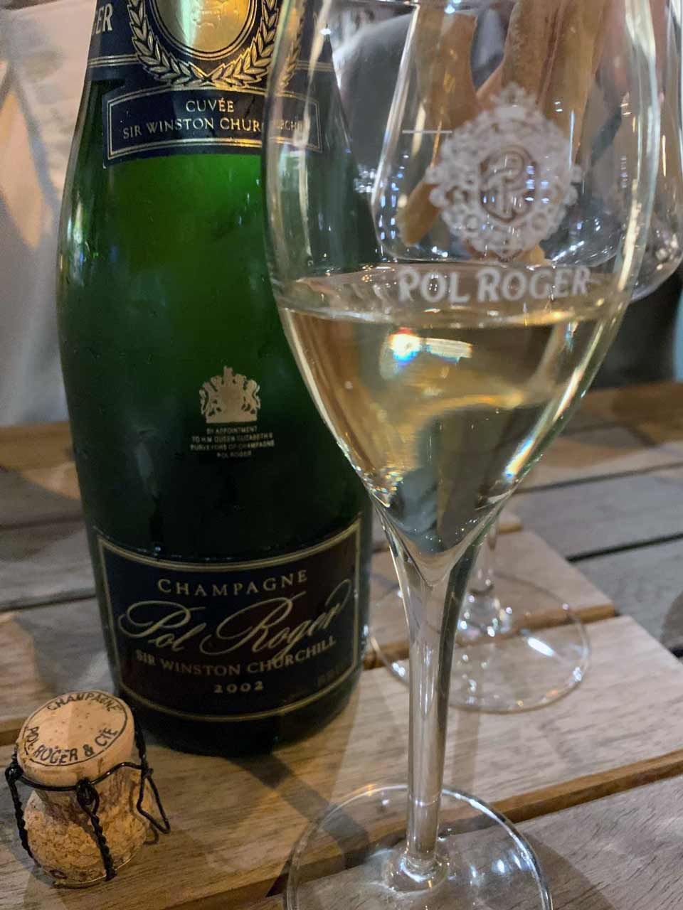 2002 Champagne Pol Roger Cuvée Sir Winston Churchill