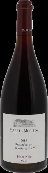 2015 Brauneberger Klostergarten*** Pinot Noir Q.b.A. trocken