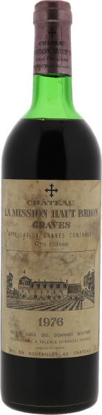 1976 La Mission Haut-Brion Graves