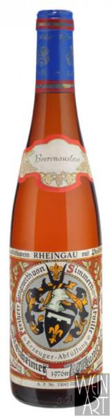 1976 Hattenheimer Mannberg Riesling Beerenauslese