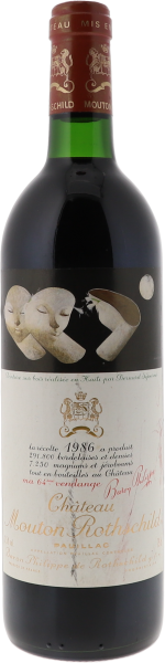 1986 Mouton-Rothschild Pauillac