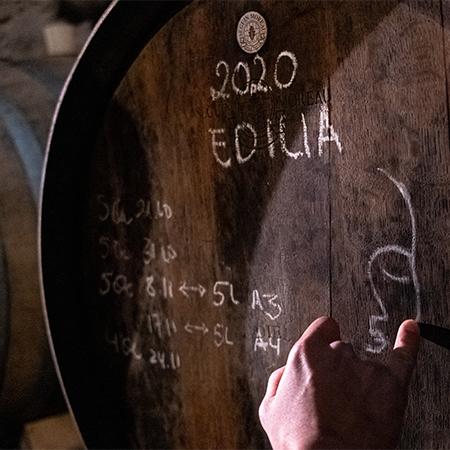 Holzfass 'Edilia'