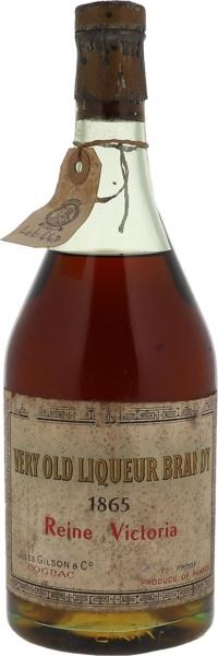 1865 Reine Victoria Liqueur Brandy