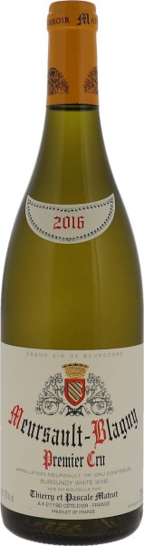 2016 Meursault Blagny Premier Cru