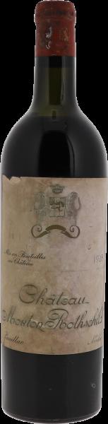 1928 Mouton-Rothschild Pauillac