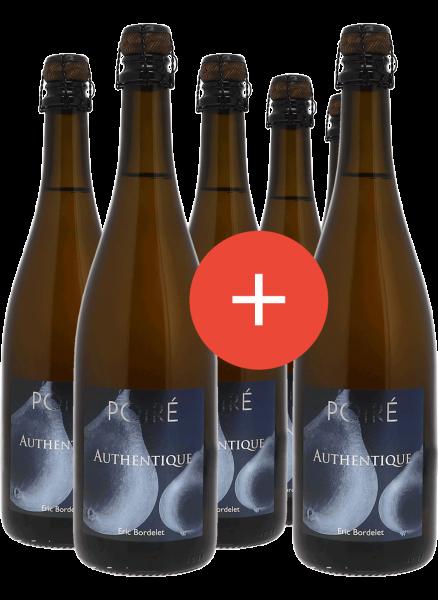 """2017 Poiré Authentique Paket """"5 + 1 Flasche gratis"""""""