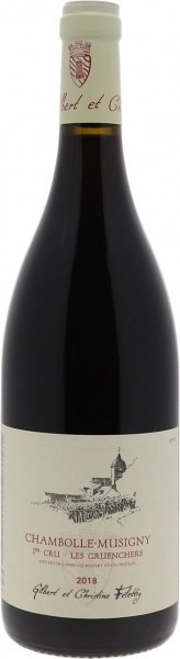 2018 Chambolle-Musigny Premier Cru Les Gruenchers