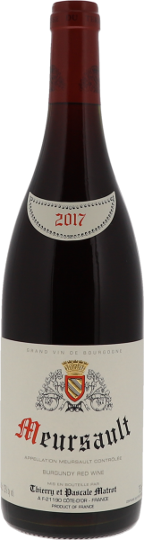 2017 Meursault Rouge