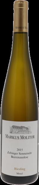 2015 Zeltinger Sonnenuhr Riesling Beerenauslese goldene Kapsel