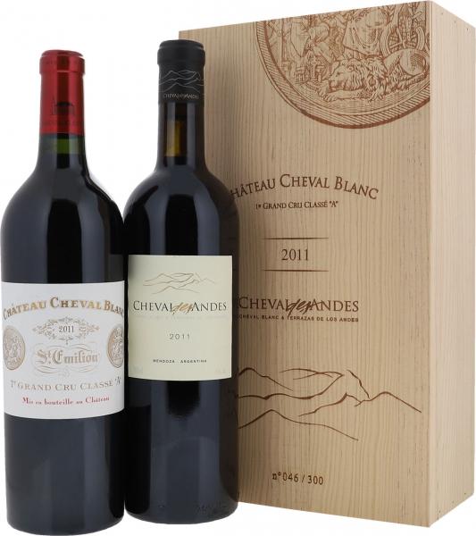 2011 Château Cheval Blanc & Cheval des Andes (2er OHK)