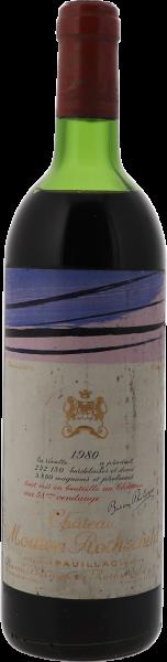 1980 Mouton-Rothschild Pauillac