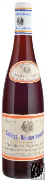 1973 Erbacher Siegelsberg Riesling Eiswein-Beerenauslese