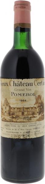 1984 Vieux Château Certan Pomerol