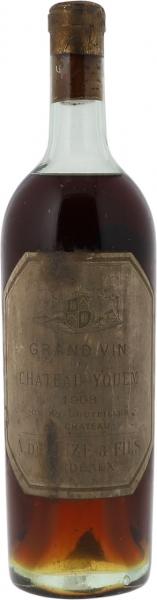 1908 Yquem Sauternes