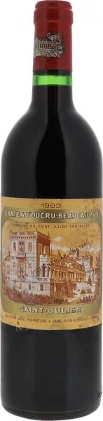 1983 Ducru-Beaucaillou St. Julien