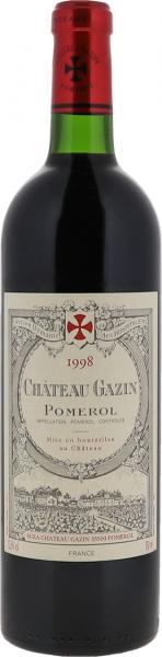 1998 Gazin Pomerol