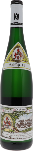 2015 Maximin Grünhäuser Abtsberg Riesling Spätlese 15 Versteigerung
