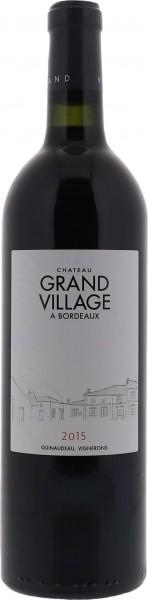 2015 Grand Village Bordeaux Supérieur