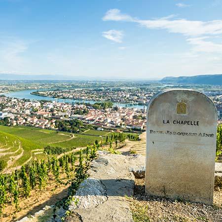 La Chapelle und die Rhône