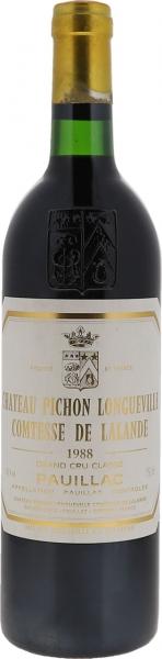 1988 Pichon-Lalande Pauillac