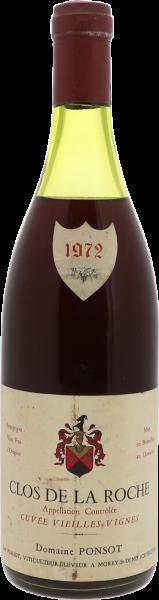 1972 Clos de la Roche Vieilles Vignes Grand Cru