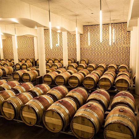 Der Keller von Cheval Blanc