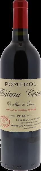 2014 Certan de May Pomerol
