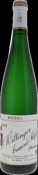 2015 Wiltinger Braune Kupp Riesling Spätlese