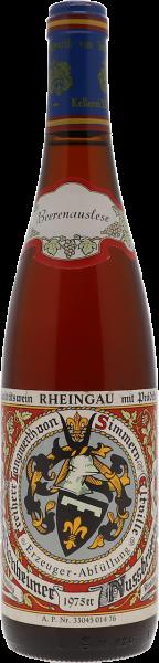 1975 Hattenheimer Nussbrunnen Riesling Beerenauslese