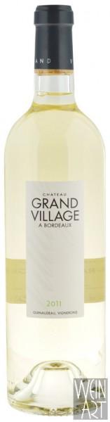 2011 Grand Village blanc Bordeaux