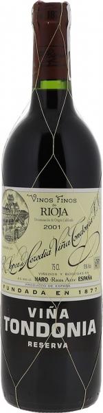 2001 Viña Tondonia Rioja Reserva
