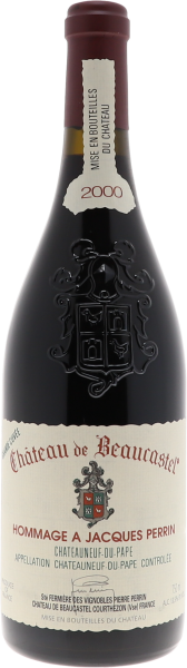 2000 Chateauneuf du Pape Hommage a Jacques Perrin