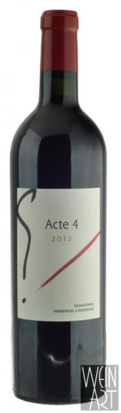2012 G Acte 4 Bordeaux Supérieur