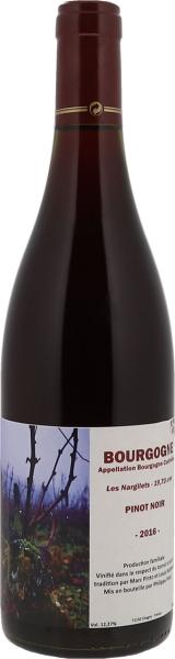 """2016 Bourgogne Rouge """"Les Nargilets"""""""