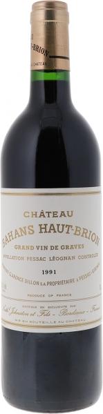 1991 Bahans Haut-Brion Graves