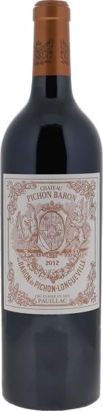 2012 Pichon Baron Pauillac