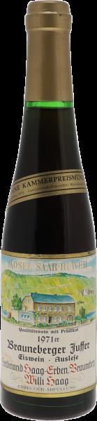 1971 Brauneberger Juffer Riesling Eiswein Auslese