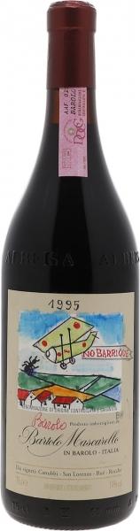 1995 Barolo Artist Label